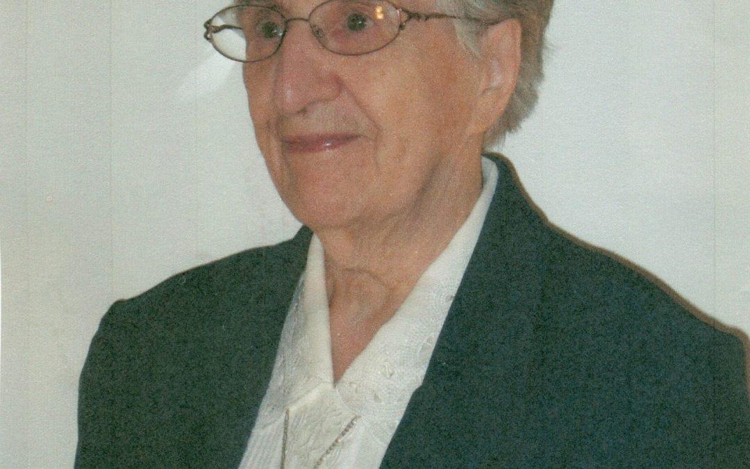 En souvenir de soeur Thérèse Frigon, s.p.